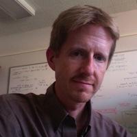 close-up of Eric Sandquist